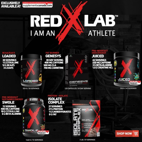 RED X LAB - NEW ARRIVAL!